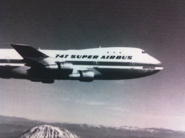 The Boeing Airbus… it happened!