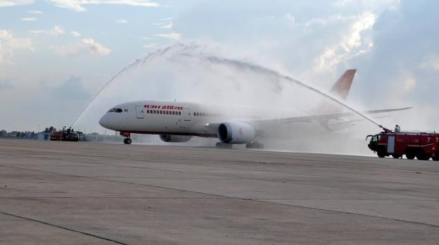 787 pertama Air India telah di-deliver!