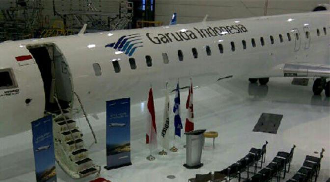 Garuda accepts 1st CRJ-1000NG