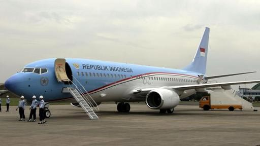 Indonesian Presidential jet goes long haul