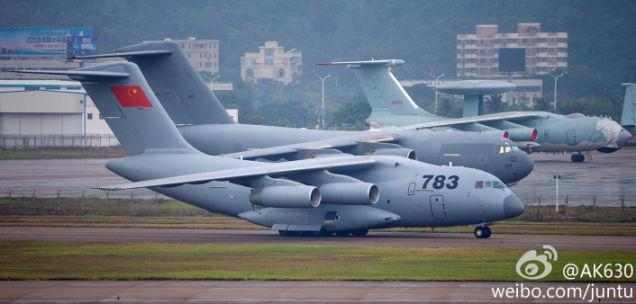 Y-20: When you slap various transport planes together!