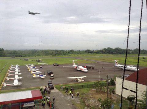 Bali 9 turns Cilacap Airport into a high security airshow