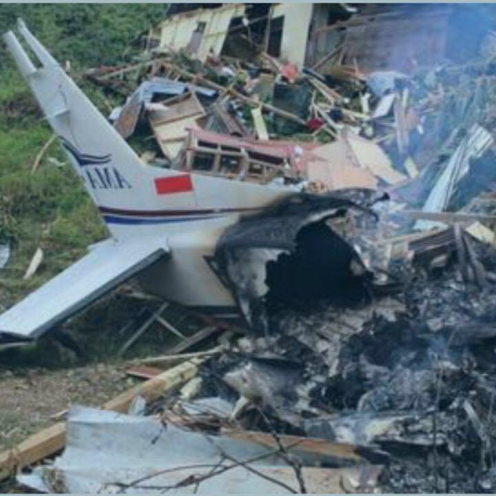 Cessna Caravan AMA hancur di Lolat, Yahukimo, Papua Barat