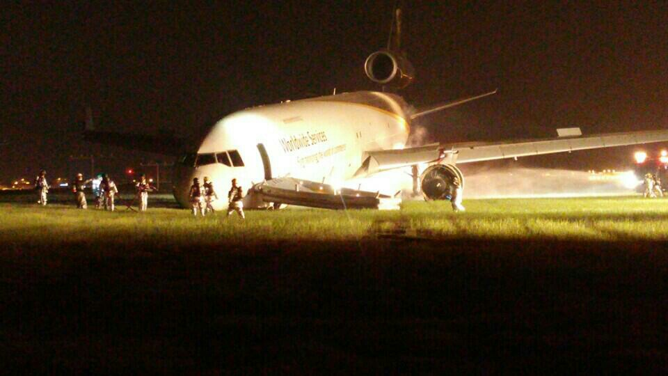UPS MD-11 runway excursion at Seoul Incheon