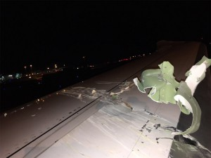 Kerusakan pada sayap 787-9 Scoot 9V-OJA